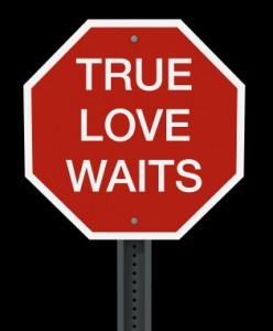 true love waits abstinence sign