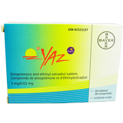 Buy YAZ Birth Control 28 day